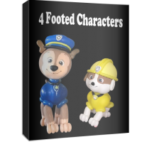 4 Footed Characters $89